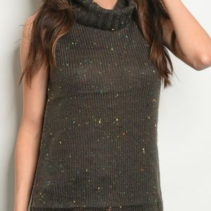 Charcoal Knit Sweater
